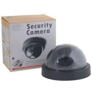 Working Dummy Dome Security Camera With Realistic Looking Cct