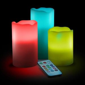 Luma Candles Real Wax Flameless Candles With Remote Control Timer