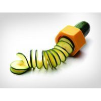Connectwide Spiral Cucumber Slicer Vegetable Fruit Salad Cutter