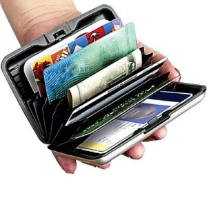 Aluma Wallet Purse Credit Card Atm Money Holder