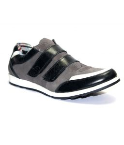 Guava Black & Grey Casual Shoe