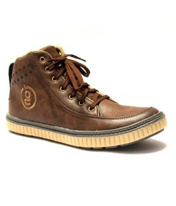 Guava Pulse Casual Shoe Brown