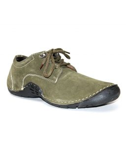 Guava Mens Casual Adventure Shoes - Olive - Gv14j074