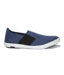 Guava Men Slip-on Canvas Shoe - Blue - Gv15ja096