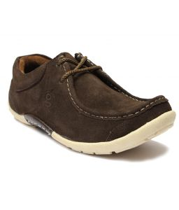 Guava Suede Casual Shoes - Brown ( Gv15ja110 )