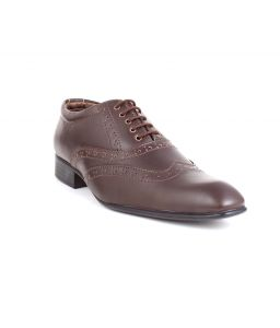 Guava Brogue Shoes - Brown - Gv15ja140