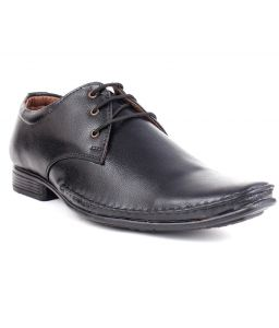 Guava Derby Formal Shoes - Black - Gv15ja146