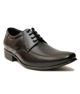 Guava Leather Formal Shoe - Black - Gv15ja155