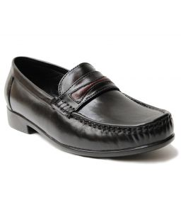 Guava Leather Formal Shoe - Black - Gv15ja159