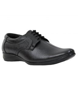 Guava Leather Formal Shoe - Black - Gv15ja160