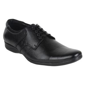 Guava Leather Black Formal Shoes For Men - Product Code (gv15ja162)