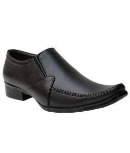 Formal Shoes (Men's) - Guava Corporate Formals - Black - GV15JA192