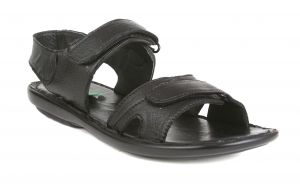 Guava Leather Sandals - Black - Gv15ja207