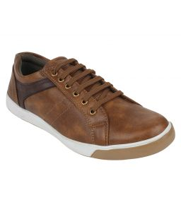 Sneakers for men - Guava Casual Tan Sneaker Shoes for Men - Product Code (GV15JA213)