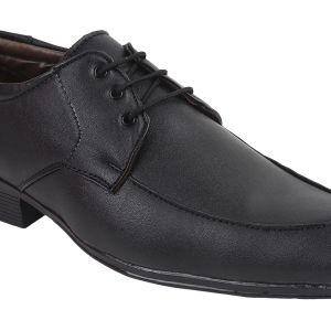 Guava Formal Black Lace-up Shoes For Men - Product Code (gv15ja221)