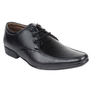 Guava Derby Black Formal Shoes For Men - Product Code (gv15ja229)