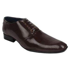 Guava Patent Business Shoes - Brown - Gv15ja257