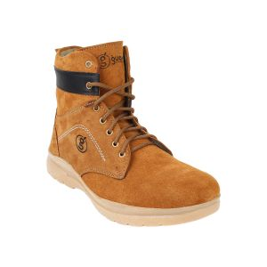 "Guava Men""s Suede Leather Boots - (product Code - Gv15ja285)"