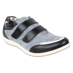 "Guava Men""s Black & Grey Casual Shoe - (product Code - Gv15ja303)"