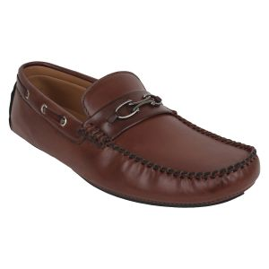 "Guava Men""s Driving Loafers - Brown - (product Code - Gv15ja310)"