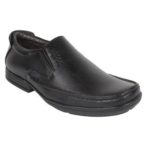 "Guava Men""s Black Dress Shoes - (product Code - Gv15ja312)"