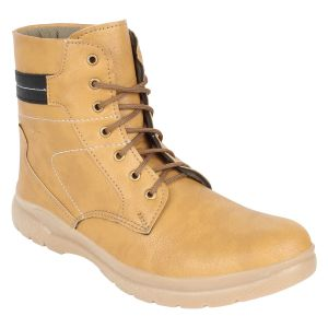 "Guava Men""s Plain Toe Boots Tan - (product Code - Gv15ja316)"