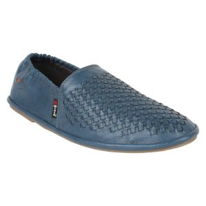 "Guava Men""s Comfortable Slip-on Loafers - Blue - (product Code - Gv15ja322)"