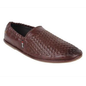 "Guava Men""s Comfortable Slip-on Loafers - Brown - (product Code - Gv15ja323)"