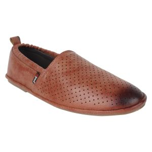 "Guava Men""s Comfortable Slip-on Loafers - Teak - (product Code - Gv15ja329)"