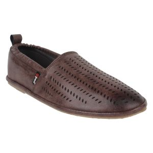 "Guava Men""s Comfortable Slip-on Loafers - Brown - (product Code - Gv15ja330)"