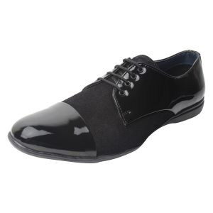 "Guava Men""s Dress Shoes - Black - (product Code - Gv15ja333)"