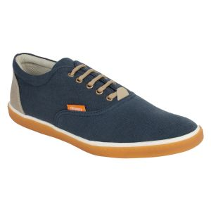 "Guava Men""s Classic Canvas Sneakers - Blue - (product Code - Gv15ja334)"