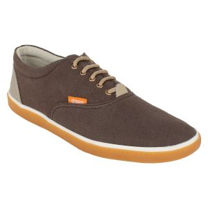 "Guava Men""s Classic Canvas Sneakers - Brown - (product Code - Gv15ja336)"