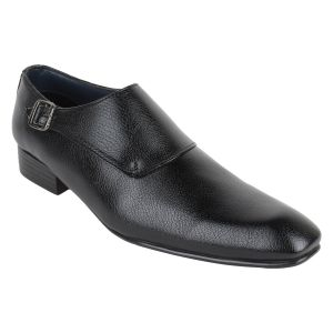 "Guava Men""s Moccasin Formals - Black - (product Code - Gv15ja340)"
