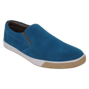 "Guava Men""s Casual Turquoise Blue Slip-ons - (product Code - Gv15ja342)"