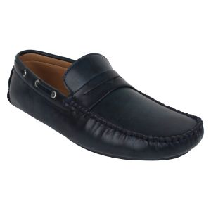 "Guava Men""s Driving Loafers - Blue - (product Code - Gv15ja349)"