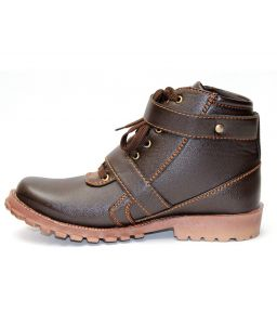 Guava Guava Stylish Buckle Boot - Brown - Gv15jb084