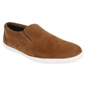 Hirolas Men Casual Tan Slip-ons - Hrl16002