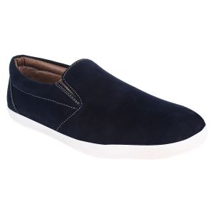 Hirolas Men Casual Blue Slip-ons - Hrl16005