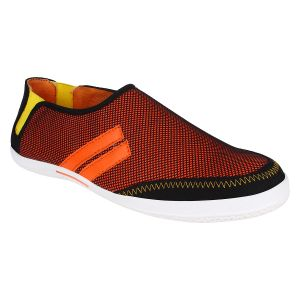 Hirolas Men Neo Slip-ons - Red - Hrl16011