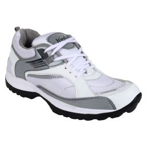 Hirolas Lite Sports Shoes - White/grey-(product Code-hrl16052)