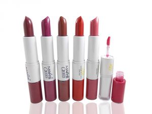 Mars Perfect 2in1 Lipstick & Lipgloss Free Liner & Rubber Band-s1