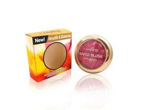 Face Makeup - Mars Baked Blush Skin Bright Rubby Free Liner & Rubber Band-MHRR-2