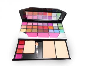 Nyn Make Up Kit Strong Colour Admistrative Levels Free Liner & Rubber Band-agusu