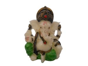 Gci Marble Beautiful Colorful Ganesh