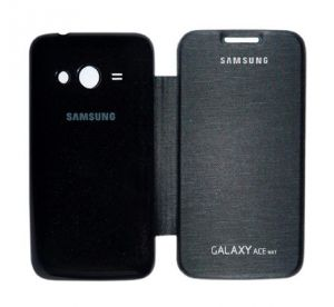 Gci Flip Cover For Samsung Galaxy Ace Nxt (black)