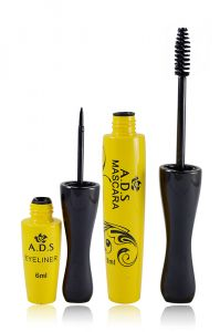 Ads Eyeliner Mascara Set With Rubber Band-poga-(code - Ads-a1608-mscr-lt32-fl)