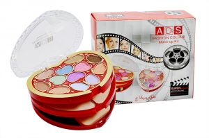 Ads Fashion Colour Make Up Kit With Liner & Rubber Band -ahrh-(code-ads-a8535-mkt-lt28-m-eylnr-fl)