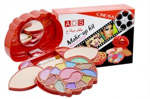 Ads Cinema New Colour Make Up Kit With Liner & Rubber Band -aopt-(code-ads-a8617-mkt-lt28-m-eylnr-fl)