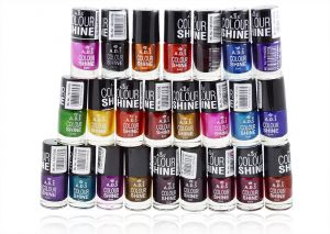 Ads Nail Enamel Disco Darkmix With Liner & Rubber Band-(code-ads-drkmx-nlpls-lt28-m-eylnr-fl)